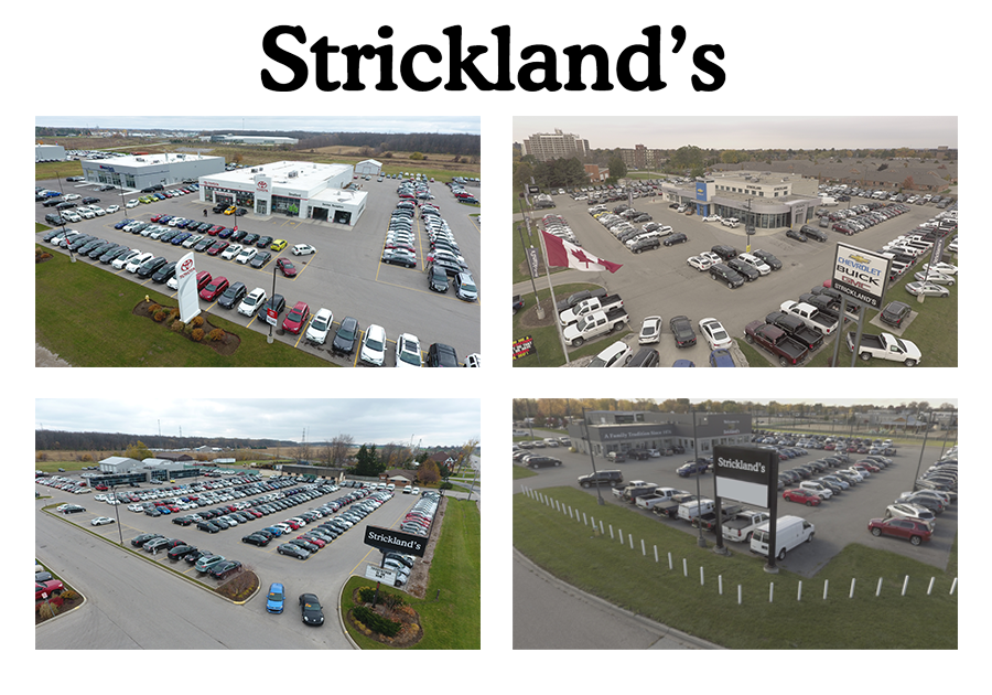 Strickland's Arial View